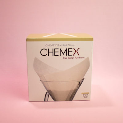 Filtro de Papel Chemex Quadrado | 100 unidades