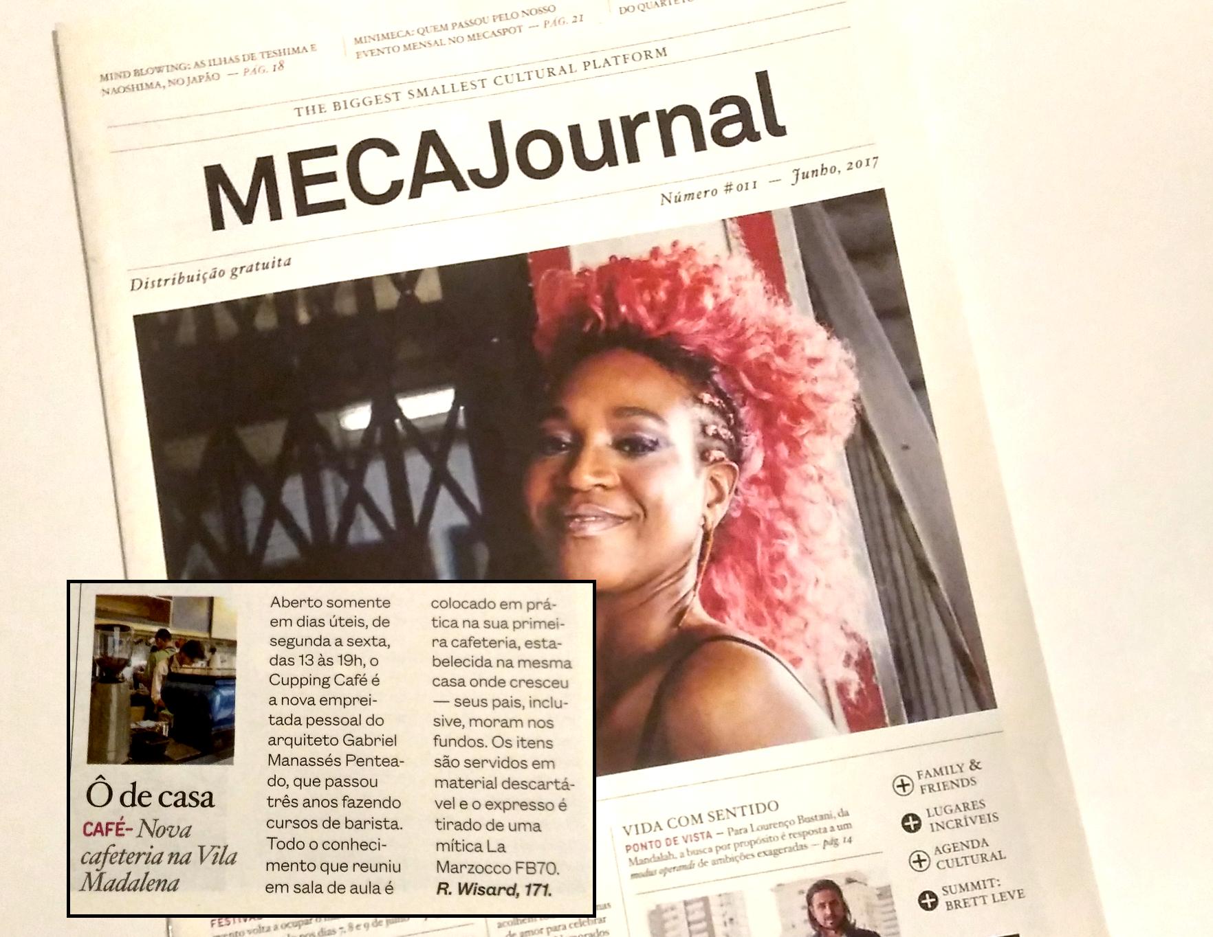 Materia Cupping Café Meca Journal
